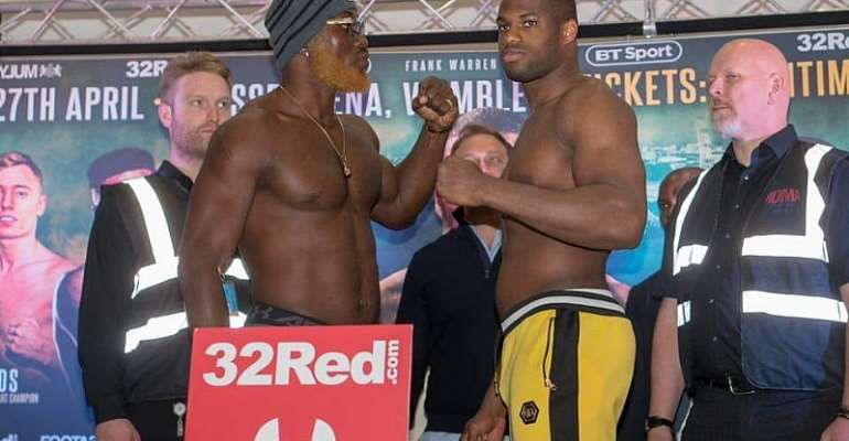 Dubois And Harrison To Fight In London For WBO Global Heavyweight Title Belt