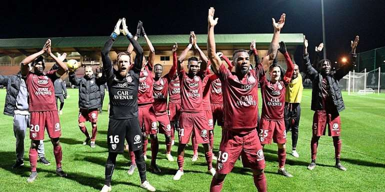 John Boye Secure Qualification To French Ligue 1 With FC Metz