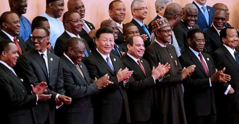 African leaders enjoy working with the Chinese government because they receive a kickback