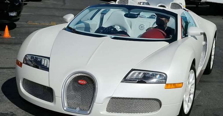 Looking Inside Floyd Mayweather's Incredible £20 Million Car Collection