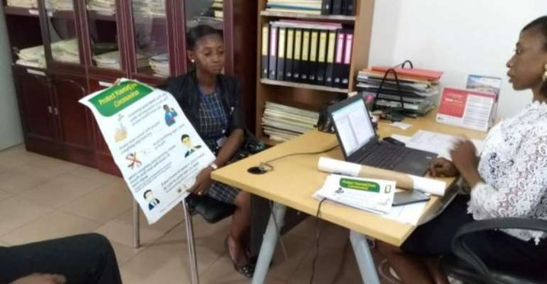 Covid-19: Three Media Houses Receive Flayers, Posters For Public Education