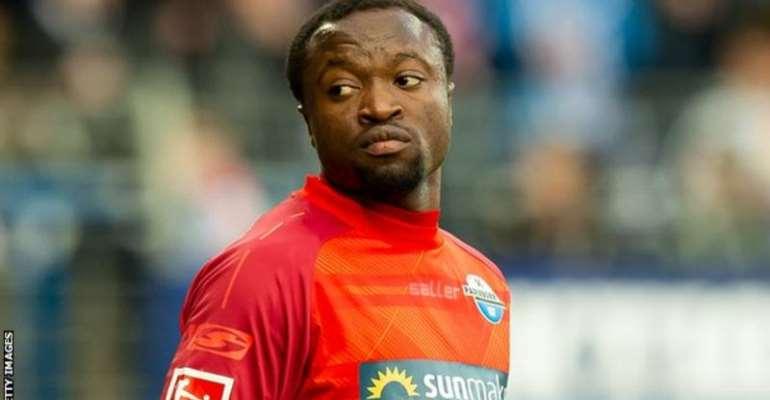 Striker Bernard Tekpetey Aiming Black Stars Return Under New Coach CK Akonnor
