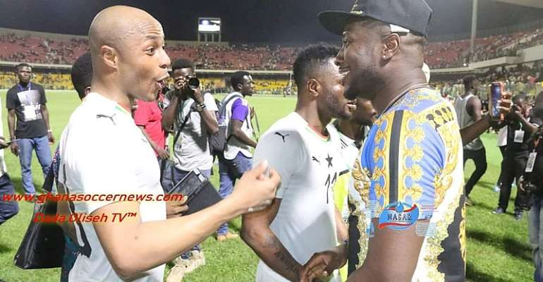 There Is No Bad Blood Between Me And Andre Ayew, Says Asamoah Gyan