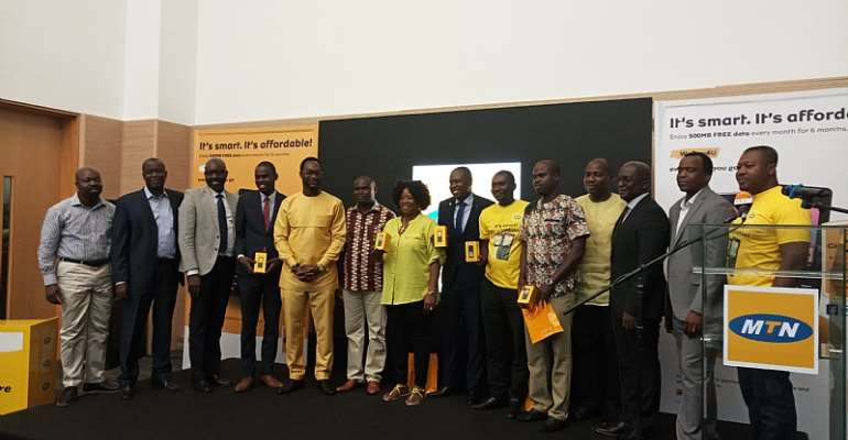 MTN Launches Smart Feature Phone