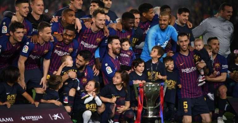Messi Goal Wins La Liga Title For Barcelona