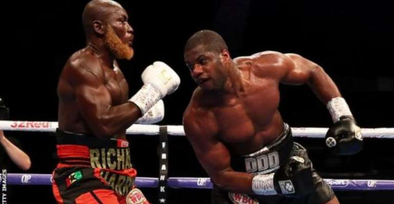 Dubois Knocks Out Lartey In Fourth Round At Wembley