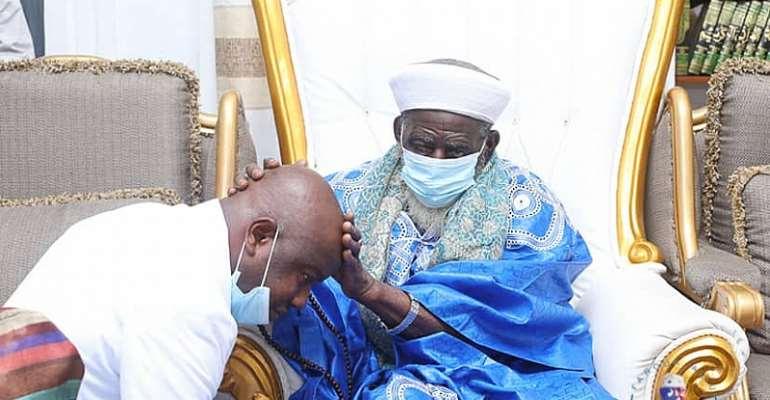 Farouk Aliu Mahama Celebrates Birthday With National Chief Imam