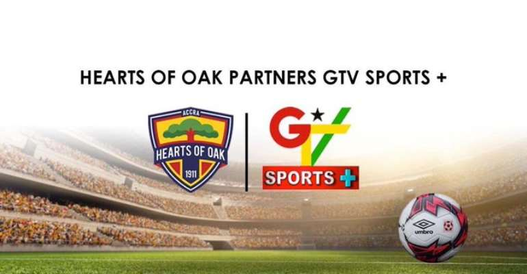 Hearts of Oak Confirm Agreement With GTV Sports Plus