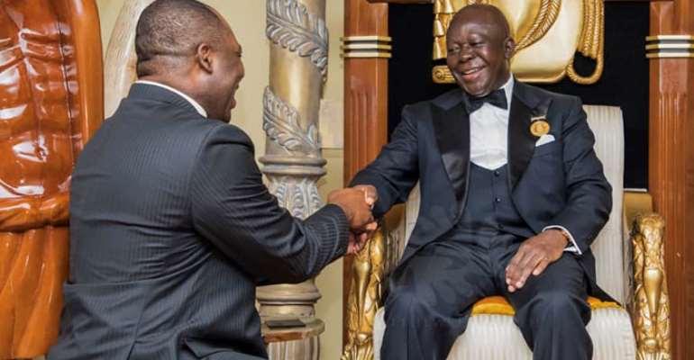 FLASHBACK: Napo paying homage to Otumfuo