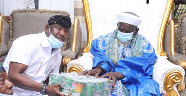 Aliu Mahama Son Donates To Chief Imam