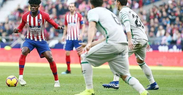 Maxwell Konadu Believes It Is Time For Partey To Leave Atletico Madrid