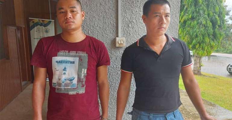 2 Chinese galamsey operators arrested at Pra River