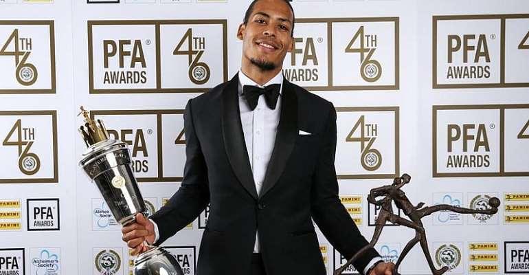 Van Dijk Wins PFA Player Of The Year Award