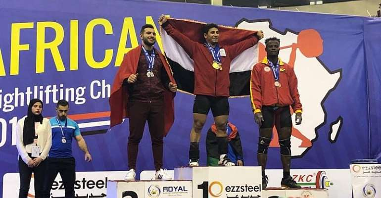 Ghana Wins Three Bronze Medals At African Weightlifting Championship