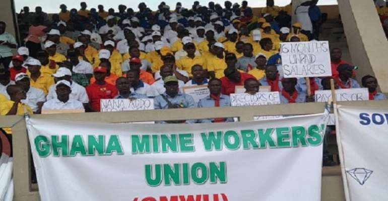 Mine Workers Want PSI On Infrastructure