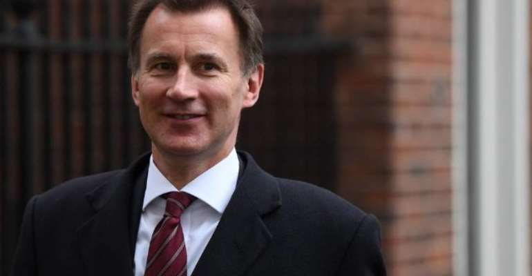 UK Foreign Secretary Jeremy Hunt Visits Ghana Today