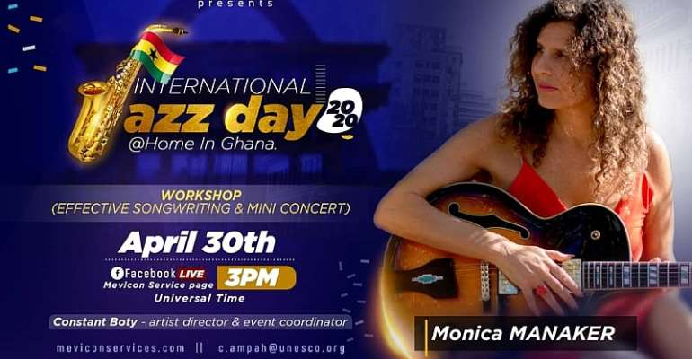 Virtual Concerts To Herald International Jazz Day 2020 In Ghana And Other Countries