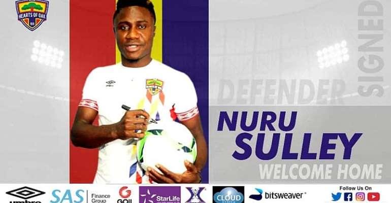 OFFICIAL: Hearts Of Oak Announce Signing Of Former Defender Nuru Sulley