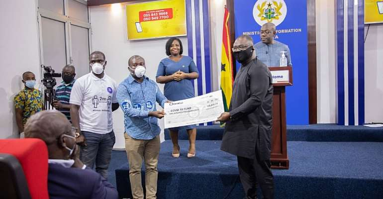 COVID-19 Fund Receives 100K From Zoomlion