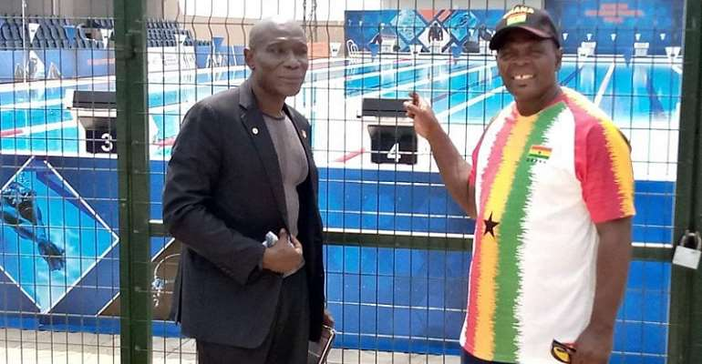 Boxing Coach Asare Hails SSNIT For Putting Up TSE