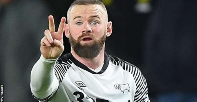 Wayne Rooney joined Derby as player-coach in January and has been at the
