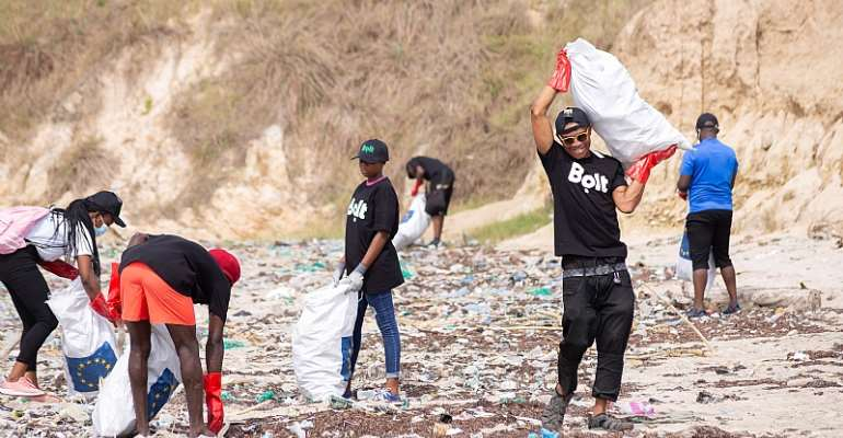 2021 Earth Day: Bolt and Plastic Punch partner to mark Earth Day 2021 with Beach Clean-up