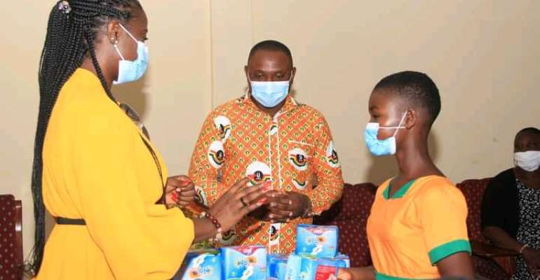 Pad A Girl Project Donated Sanitary Pads To 3,700 Girls In Keta And Anloga