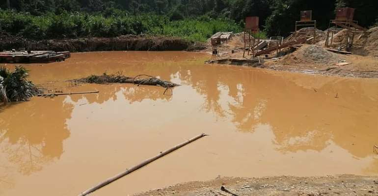 The Water And Galamsey Tango