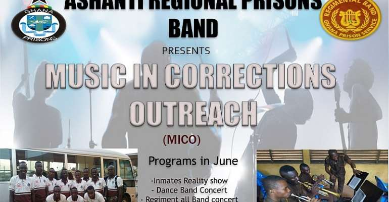 Ashanti Regional Prisons Band To Launch Project 'MICO'