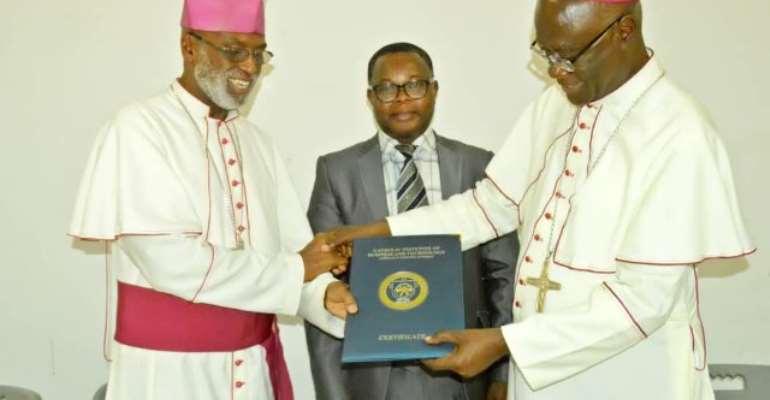 Archbishop John Bonaventure Kwofie Is Chancellor Of CIBT