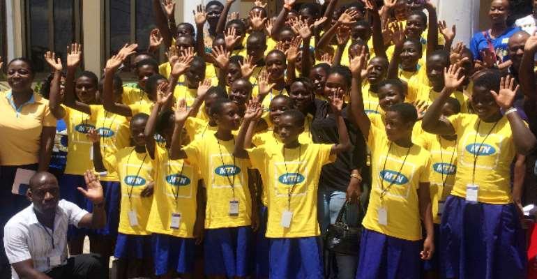 MTN, Soronko Academy Empower Young Girls In ICT