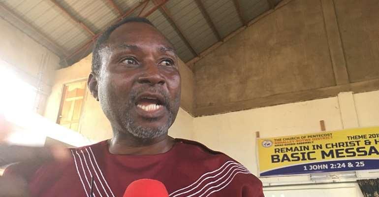 Municipal Chief Executive Nii Noi Adumuah caught between a rock and a hard place