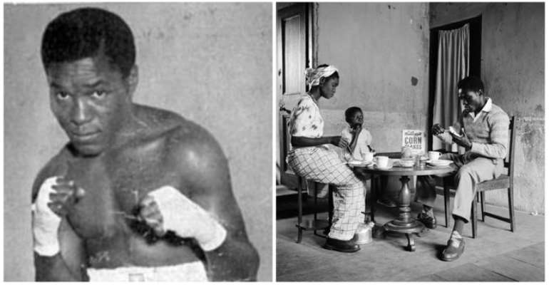 TODAY IN HISTORY: Roy Ankrah Wins The British Empire Featherweight Title