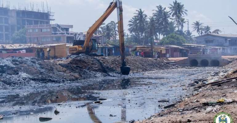 Govt Releases GH¢200-million For Desilting Drains Nationwide As Rain Sets In