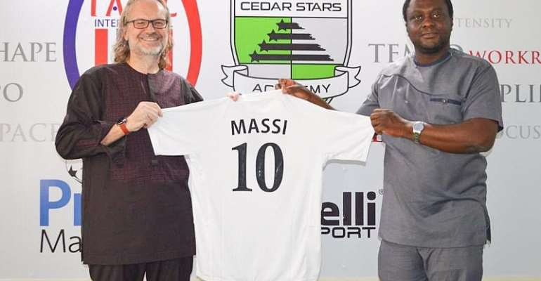 Consul Of Ghana To Italy Visits Inter Allies