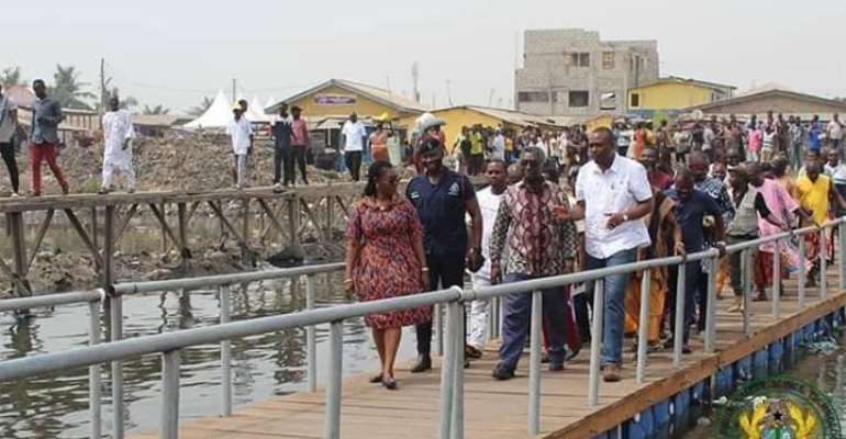 Chemunaa Bridge Collapse Was Intentionally Orchestrated – Ursula Owusu