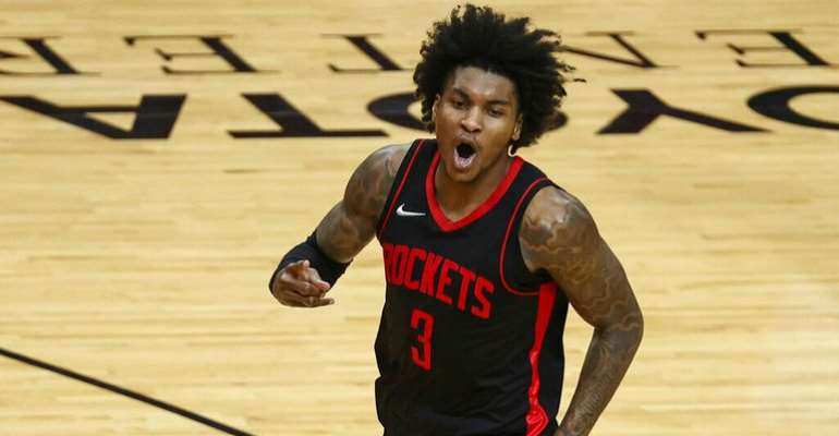 Kevin Porter Jr became the youngest player ever to log a 50-point double-double with assists