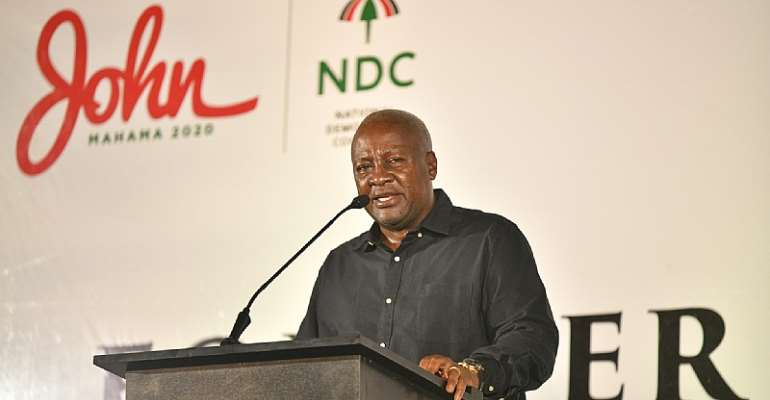 NDC has intellectuals to 'take on any political party' – Mahama