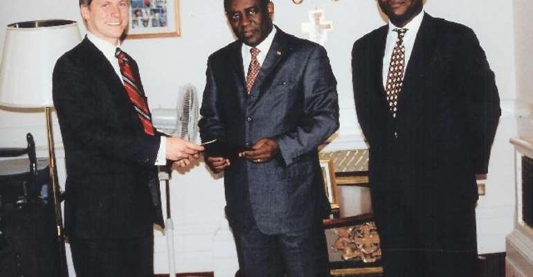 Ghana's Envoy Praises African Enterprises In The UK