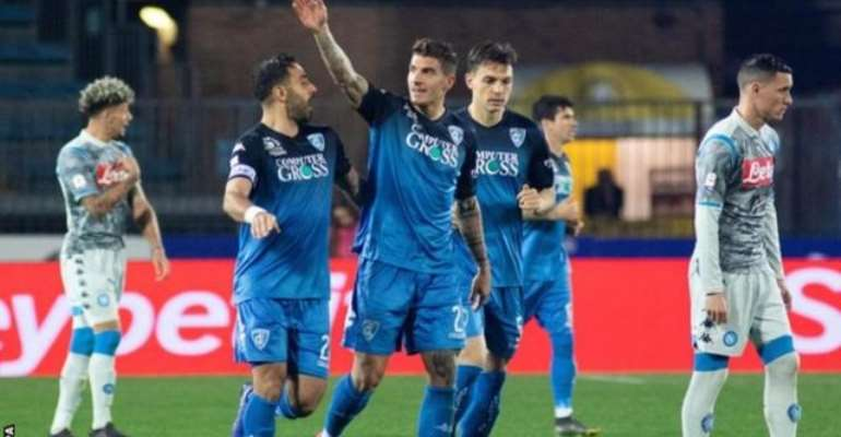 Napoli's Surprise Defeat Puts Juventus Within Reach Of Serie A Title