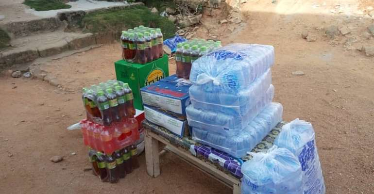 Aboom Methodist 'B' Branch Donates Towards The Funeral Of The Late Isaac Benjamin Otoo