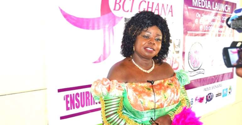 President of Breast Care International (BCI), Dr. Mrs. Beatrice Wiafe