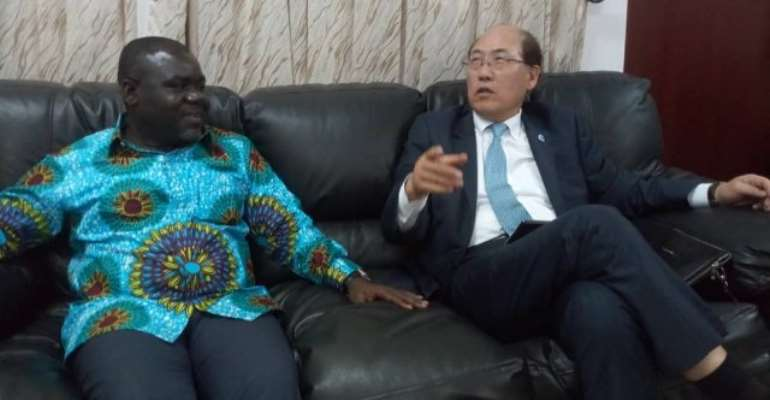 Secretary-General of the IMO, Kitack Lim's visit to Ghana was his first since assuming the position