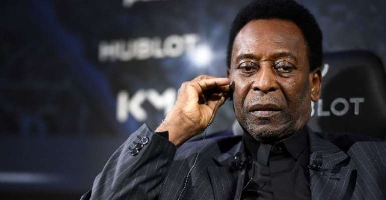 Pele Hospitalised With Strong Fever In Paris