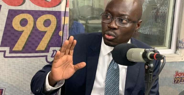 Ato Forson is Minority spokesperson on finance