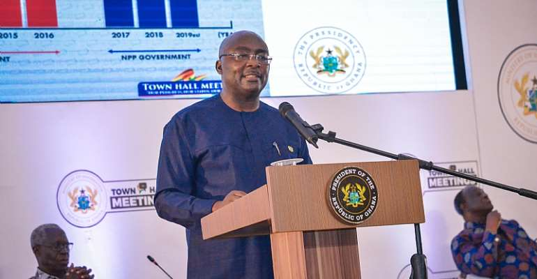 Ghana Is On Solid Foundation; Future Is Bright--Bawumia
