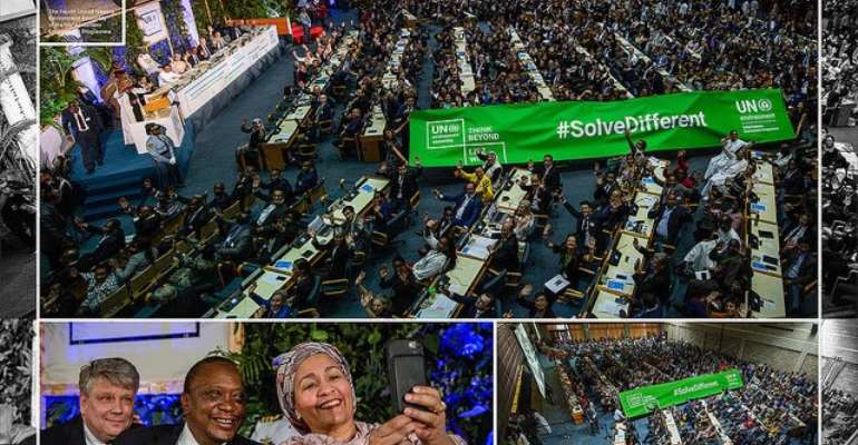 World Leaders Pledge To Protect Polluted, Degraded Planet