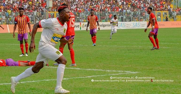 Maxwell Baakoh Names Justice Blay As Asante Kotoko's Best Player