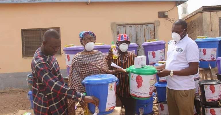 Zebilla MP Donates Health Items To Support Coronavirus Fight