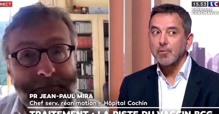 French medical experts slammed over 'racist' comments on Covid-19 testing in Africa